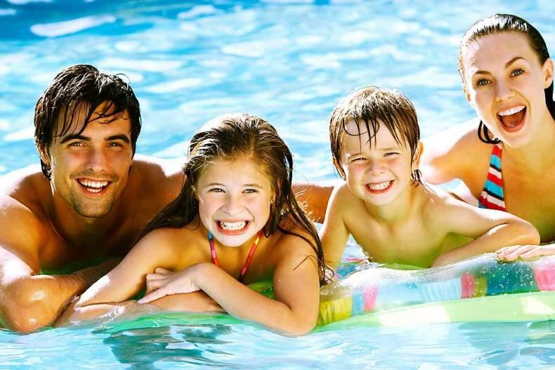 Семейный отдых на воде